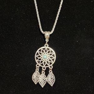 Boho Dream Catcher Necklace